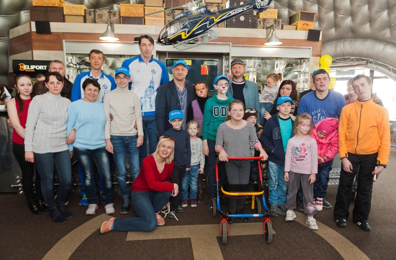 благотворительный проект «Хелипорт Москва» и фонда «Шаг Вместе»