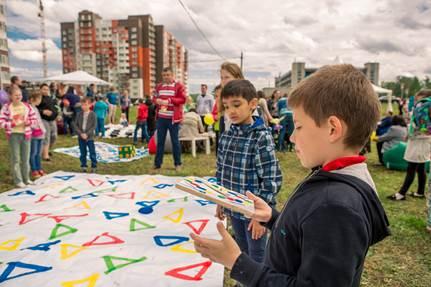 Фотоотчет с праздника Мир детства и маленьких радостей в Новых Ватутинках