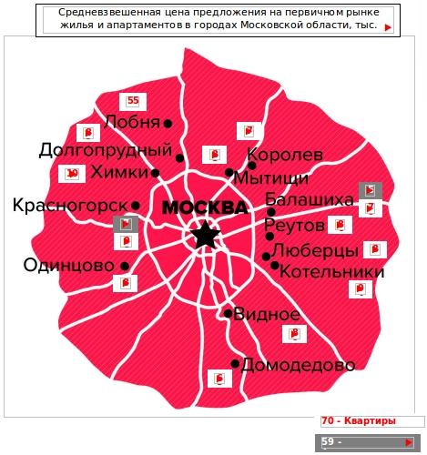 новостройки ближнего Подмосковья 2 квартал 2016